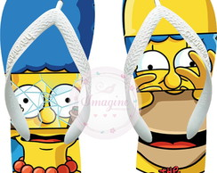 Chinela Havaiana Personalizada Os Simpsons Cod: Sp10