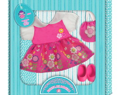 Kit Para Baby Alive e Little Mommy - Flores