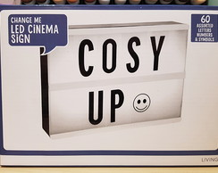 Lightbox Led Cinema Sign