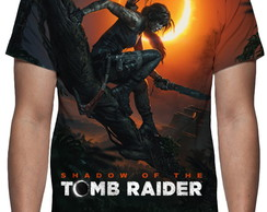 Camiseta Game Shadow of the Tomb Raider - Estampa Total