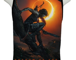 Camiseta Game Shadow of the Tomb Raider - Regata