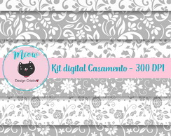 KIT PAPEL DIGITAL CASAMENTO