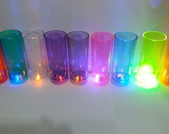 COPO LONG DRINK COM LED PARA PERSONALIZAR