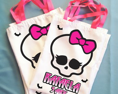 Bolsinha Personalizada Monster High