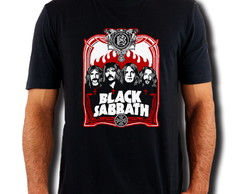 Camiseta Black Sabbath