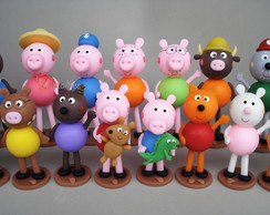 Kit Personagens Peppa Pig