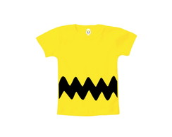 Camiseta INFANTIL OU Body Charlie Brown