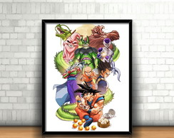 Quadro Dragon Ball Z