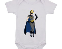 Body Infantil Cinderela Batman