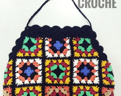 Top cropped croche collors