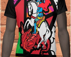 camiseta sublimacao total sao jorge 57