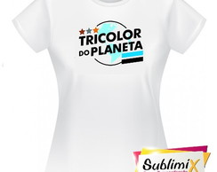 ... Camiseta Baby Look Tricolor a4720a8b6a727