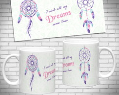 Caneca de Cerâmica 325ml Arte Dream Catcher