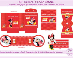 Kit Digital Festa Minnie