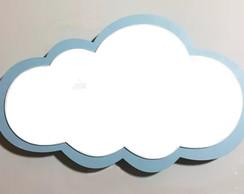 Nicho Nuvem Mdf Para Decoracao Quarto De Bebe Rosa Ou Azul Elo7