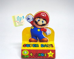 Caixa Chocolate Duplo Super Mario