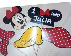 Topper de Mesa minnie Recortado