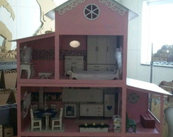 Casa Barbie Totalmente decorada
