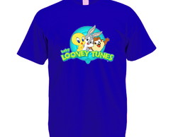 Camiseta Azul Royal Baby Looney Tunes