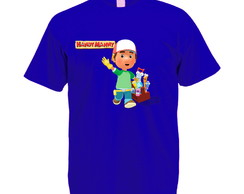 Camiseta Azul Royal Handy Manny