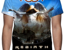 Camiseta Banda Angra - Rebirth - Estampa Total
