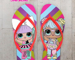 Chinelo Infantil LOL Dolls