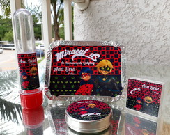 Kit festa 80 itens - Lady Bug Miraculous