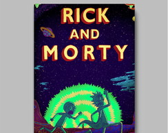 Poster série - Rick And Morty