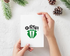"Placa decorativa MDF ""Be Irish"""
