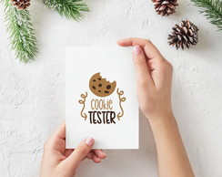 "Placa decorativa MDF ""Cookie Tester"""