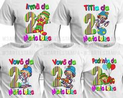 7 Camisetas Bebe Moranguinho Aniversario Festa Camisas Blusa  9d894550e85