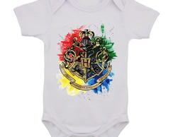 Body Infantil Harry Potter Hogwarts