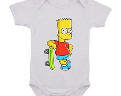 Body Infantil Os Simpsons