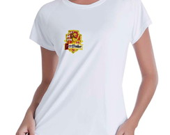 Camiseta Baby Look Harry Potter Logo Grifinoria