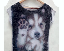 Camisete Dog Husky