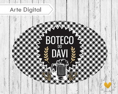 ... Placa Elipse Boteco (digital) dbefeb755bf3d