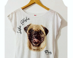 Camisete Dog Pug