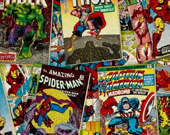 TIA05 Marvel Retro Comics Covers Multi