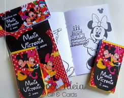 Kit Colorir - Mickey e Minnie