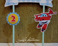 Topper cake Super Wings