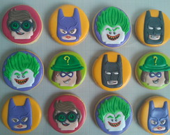 Biscoito Decorado Lego Batman