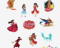 Aplique 3 cm Elena de Avalor