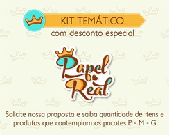 Kit Temático - Fundo do Mar