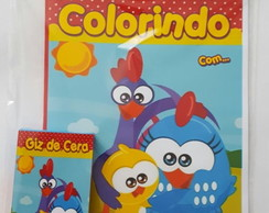 Kit de colorir Galinha Pintadinha Cute