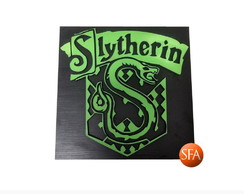 Quadro Harry Potter - Slytherin - Sonserina
