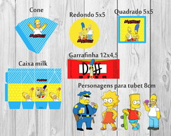 Os Simpsons - Paper Kit