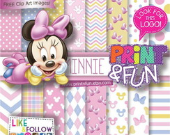 Kit Digital Paper Baby Minie