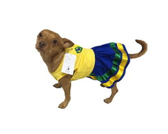 Vestido Pet - Copa do Mundo