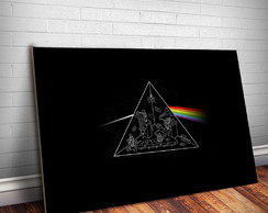 Placa Decorativa Pink Floyd 16- 30x20cm