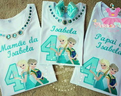 Kit Familia Frozen 3 pecas